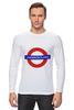 "Лонгслив ""Underground"" - арт, стиль, рисунок, london, метро, uk, metro, метрополитен, подземка"