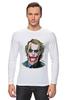 """Лонгслив """"joker style"""" - joker, batman, джокер, бэтмен, dark knight, тёмный рыцарь"""