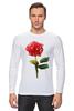 "Лонгслив ""С 8 марта!"" - цветы, rose, роза, акварель, tseart"
