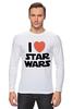 """Лонгслив """"I love Star Wars"""" - фантастика, star wars, культовый фильм, звёздные войны"""