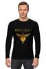 "Лонгслив ""Bon Jovi"" - logo, hard rock, bon jovi, бон джови"