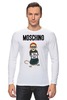 "Лонгслив ""Moschino"" - прикол, юмор, бренд, fashion, brand, branding"
