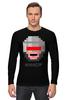 """Лонгслив """"Robocop 8-bit"""" - робот, 8 бит, полицейский, робокоп"""