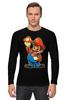"""Лонгслив """"Супер Марио"""" - nintendo, super mario, mario bros, супер марио, видеоигры"""