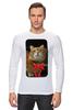 "Лонгслив ""Рыжий "" - кот, котэ"