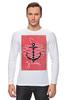 "Лонгслив ""Je t'aime"" - любовь, море, якорь, anchor"