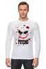 """Лонгслив """"Джокер (Psycho)"""" - joker, кровь, batman, джокер, псих"""