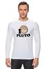 """Лонгслив """"Плутон (Pluto)"""" - space, космос, плутон, pluto"""