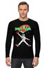 """Лонгслив """"Space Jam x Jordan"""" - jordan, джордан, космический баскетбол, space jam, космический джем"""