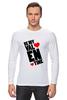 "Лонгслив ""Be my Valentine                   "" - любовь, арт, сердца, день святого валентина, 14 февраля, рисунок, valentine's day"
