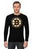 """Лонгслив """"Boston Bruins"""" - хоккей, nhl, нхл, бостон брюинз, boston bruins"""