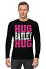 """Лонгслив """"Hug Bayley Hug (WWE)"""" - wwe, hug, рестлинг, bayley, бэйли"""