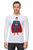 "Лонгслив ""Супермен (Superman)"" - супермен, superman, супергерой, dc"