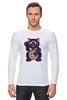"""Лонгслив """"Манэки-Нэко (Кот Счастья)"""" - cat, кот счастья, манэки-нэко"""