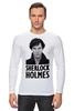 "Лонгслив ""Sherlock Holmes"" - лондон, sherlock, шерлок, ватсон, cumberbatch"
