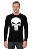 "Лонгслив ""The punisher"" - marvel, punisher, каратель, the punisher"