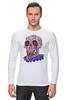 "Лонгслив ""Zombie art"" - skull, череп, zombie, зомби, арт дизайн"