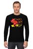 """Лонгслив """"Flash (8 Bit)"""" - flash, pixel art, пиксельная графика, флэш"""