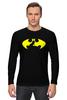 "Лонгслив ""Бэтмен (Batman)"" - batman, бэтмен, superhero"