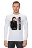 "Лонгслив ""Michael Jackson"" - майкл джексон, michael jackson, майкл"