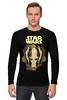"""Лонгслив """"star wars"""" - star wars, dark side, звёздные войны, гривус"""