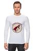 "Лонгслив ""Arizona Coyotes"" - спорт, хоккей, nhl, нхл, аризона койотс"