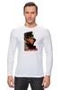 """Лонгслив """"Женская футболка с Путиным"""" - путин, putin, все путем, одежда с путиным"""