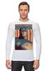 """Лонгслив """"Captain America"""" - мужская, супергерой, superhero, капитан америка"""