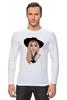 "Лонгслив ""Lady Gaga                    "" - музыка, арт, авторские майки, style, стиль, рисунок, поп, swag, lady gaga, леди гага"