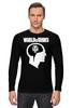 "Лонгслив ""Brain & WOT "" - мозг, games, игры, игра, game, brain, логотип, world of tanks, танки, wot"