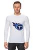 "Лонгслив ""Теннесси Тайтанс"" - огонь, логотип, nfl, американский футбол, american football, нфл, теннесси тайтанс, titans"