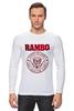 "Лонгслив ""Rambo"" - боевик, рэмбо, сильвестр сталлоне, rambo, sylvester stallone"