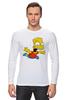 "Лонгслив ""The Simpsons"" - симпсоны, the simpsons, барт, барт симпсон"
