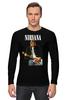 """Лонгслив """"Nirvana Kurt Cobain Live & Loud t-shirt"""" - grunge, nirvana, kurt cobain, курт кобейн, нирвана"""