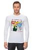 """Лонгслив """"Warhol - Basquiat"""" - энди уорхол, andy warhol, basquiat, баския"""