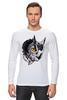 """Лонгслив """"Owl Gray"""" - взгляд, сова, филин, owl"""