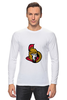 """Лонгслив """"Ottawa Senators"""" - хоккей, nhl, ottawa senators, канада, оттава"""