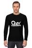 "Лонгслив ""Ozzy Osbourne"" - ozzy, black sabbath, ozzy osbourne, оззи, ozzfest, osbourne, озборн, оззи озборн"