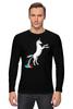 """Лонгслив """"Единорог"""" - радуга, пони, абстракция, unicorn, единорог"""