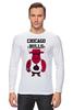 "Лонгслив ""Chicago Bulls"" - баскетбол, bulls, бык, chicago bulls, чикаго буллз"