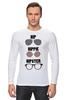"Лонгслив ""HipHipiHipster"" - очки, хипстер, hippie, хиппи, hip, hipster"