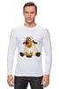 """Лонгслив """"Good Luck"""" - смешные, новый год, овца, sheep, 2015, овечка"""