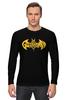 "Лонгслив ""Бэтмен, (Batman)"" - batman, бэтмен"