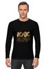 "Лонгслив ""AC/DC"" - music, rock, золото, кумиры, автралия"