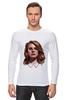 """Лонгслив """"Lana del Rey"""" - стиль, рисунок, портрет, lana, лана дель рей"""