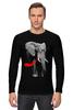 """Лонгслив """"Классный Слон"""" - африка, слон, слоник, elephant, африканский слон"""