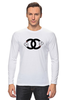 "Лонгслив ""Chanel"" - духи, бренд, fashion, коко шанель, brand, coco chanel, шанель, perfume, karl lagerfeld, карл лагерфельд"