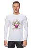 """Лонгслив """"Marilyn Monroe """" - блондинка, мэрилин монро, marilyn monroe, bubble gum"""