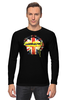 "Лонгслив ""Шерлок"" - bbc, флаг, sherlock, шерлок, uk"