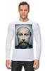"Лонгслив ""Путинизм"" - царь, king, путин, борода, putin, beard, путинизм"